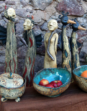 Ceramika szamotowa - Ula Surowiec