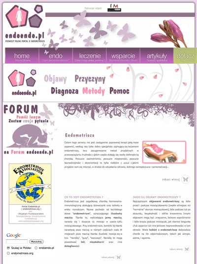 Pierwsza Polska Strona o Endometriozie - endoendo.pl